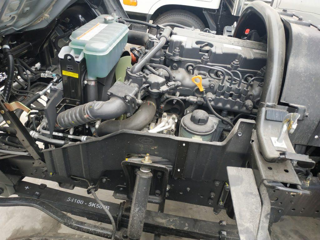 động cơ D4GA tiêu chuẩn EURO4